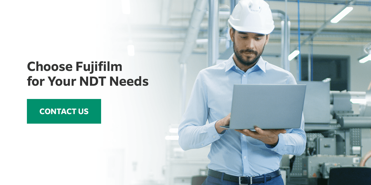 Choose Fujifilm for Your NDT Needs