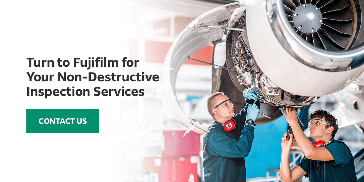Turn to Fujifilm for Your Non-Destructive Inspection Services